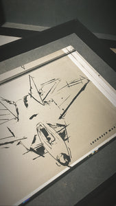 ARTIST JAMES SOTER  F-22 RAPTOR LOCKHEED MARTIN AVIATION COLLECTION PLEXIGLASS SERIES I