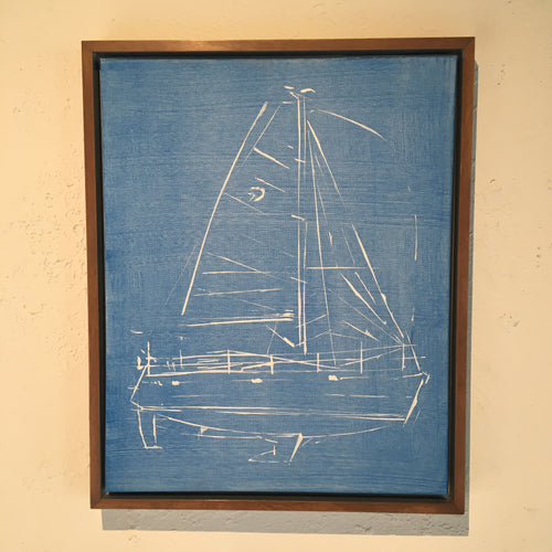 DELPHIA 47 ARTIST JAMES SOTER SAILBOAT