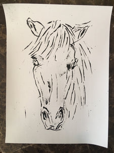 HORSE SECOND EDITION ARTIST JAMES SOTER