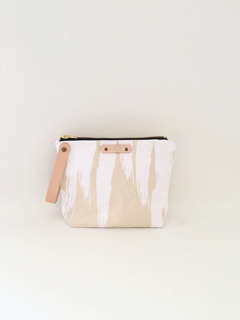 Large Clutch - PAINTER WHITE