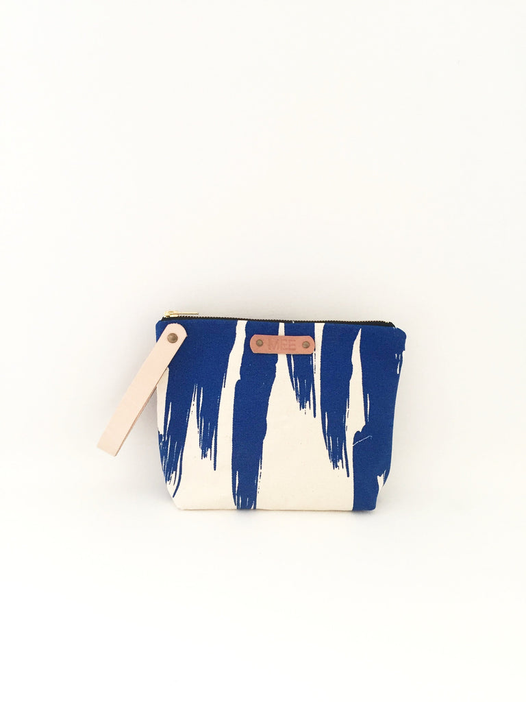 Large Clutch - PAINTER BLUE