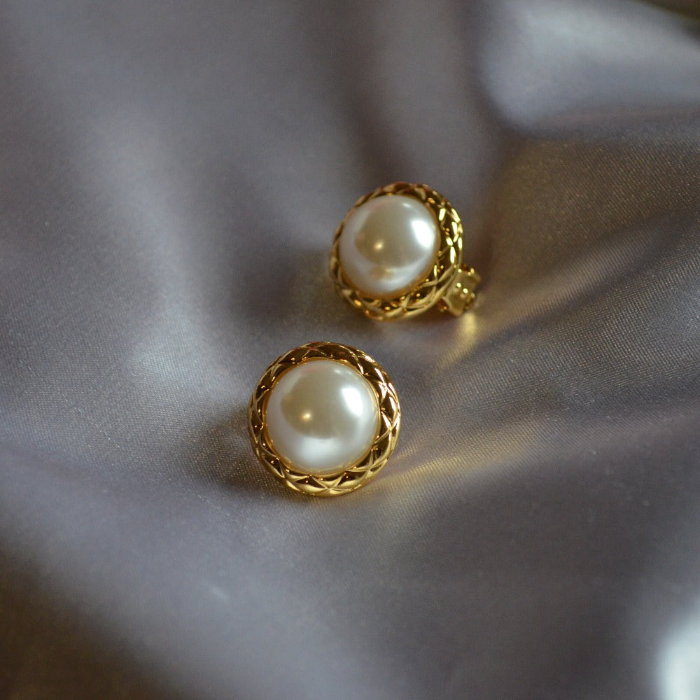 Dorée Clip-On Earrings | Non Pierced Ears