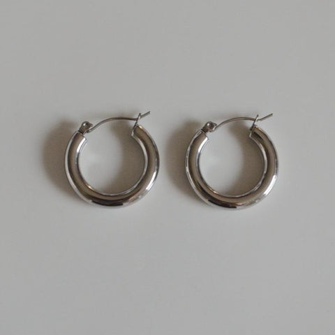 Dione Silver Earrings