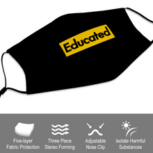 Educated Face Masks Dust Mask with Filter Element