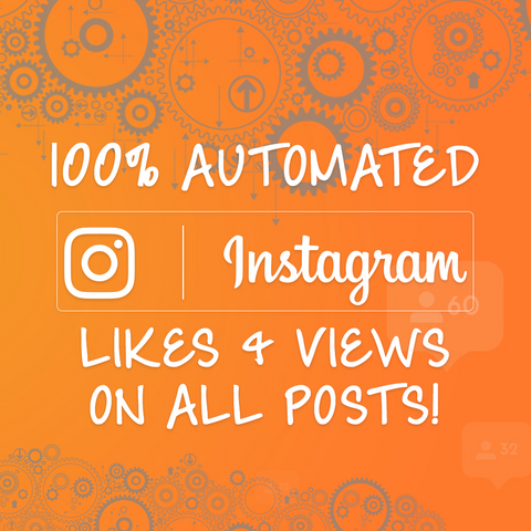 Instagram Auto-Likes+Views - 1 Month