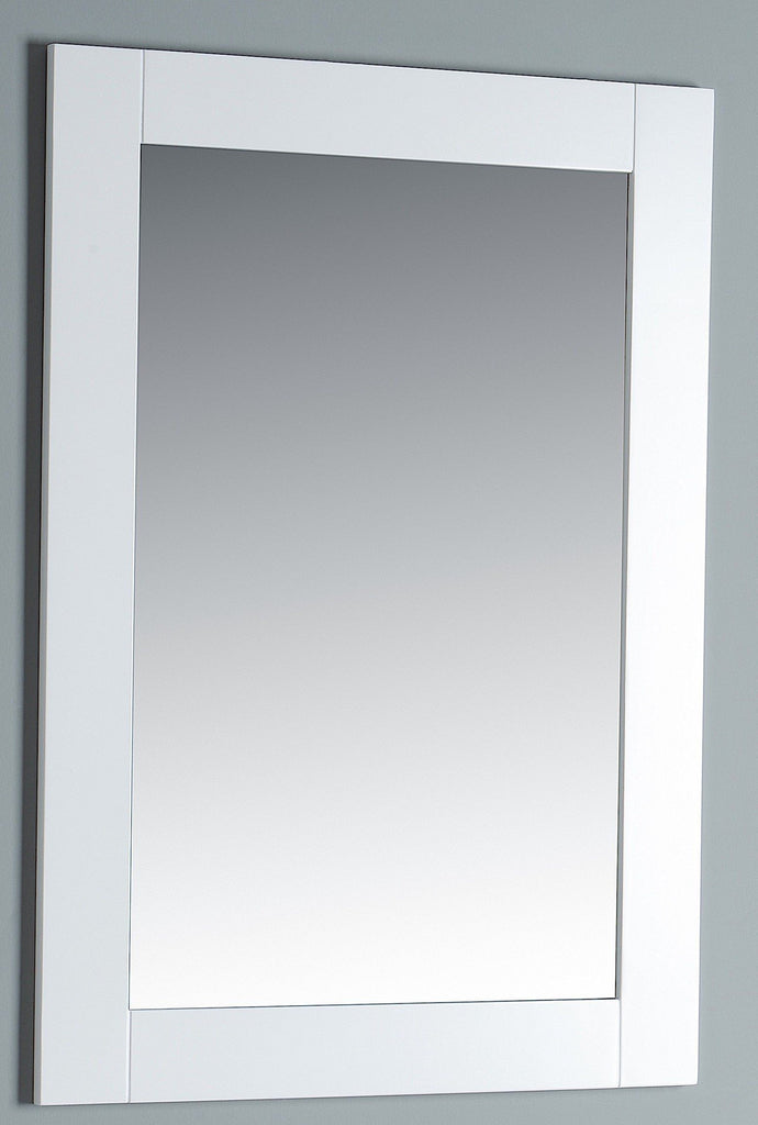 Rubeza Sazio 558x800mm Luxury Framed Mirror White