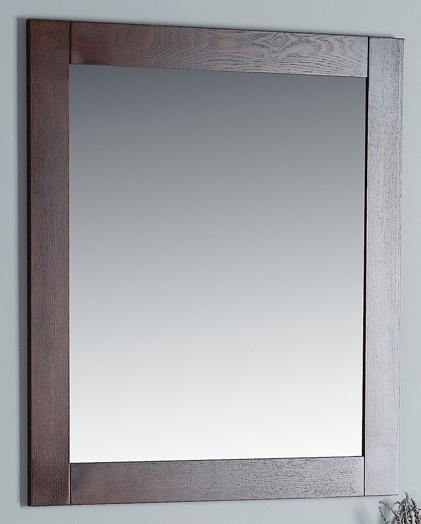 Rubeza Sazio Dark Espresso 863x800mm Luxury Framed Mirror