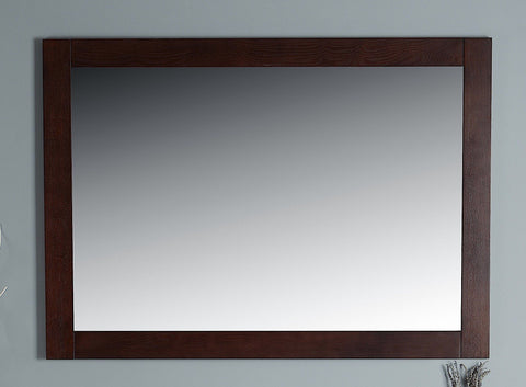 Rubeza Sazio Dark Espresso 1117x800mm Luxury Framed Mirror