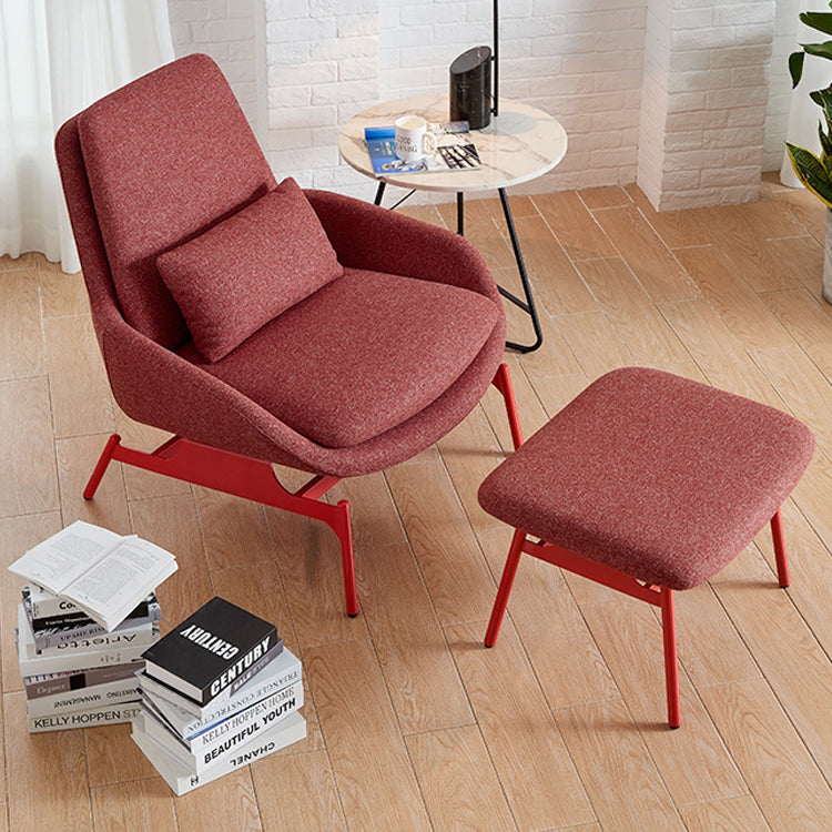 Rubeza Quinn Collection Armchair - Red - HYA-5226-A