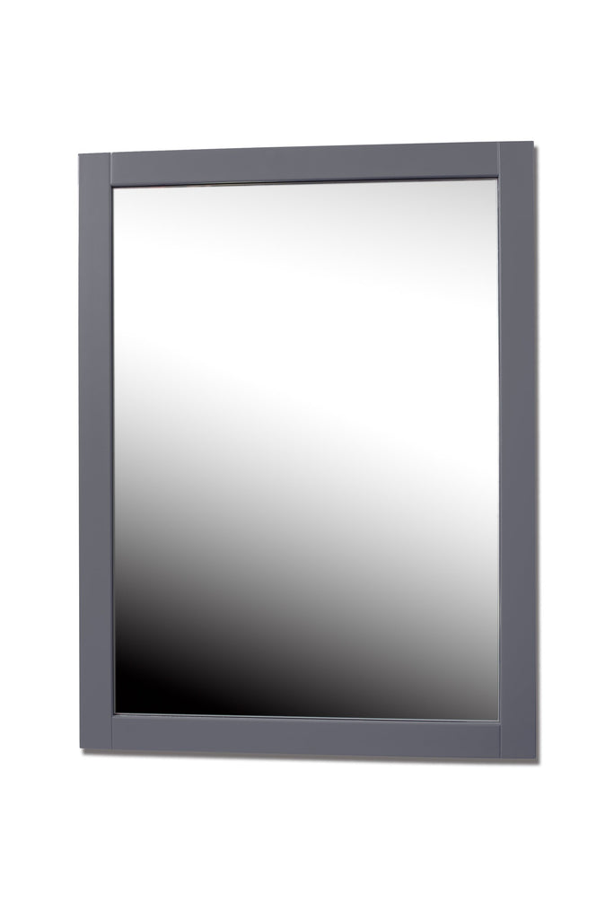 Rubeza Fabien 600x800 mm Grey Bathroom Vanity Mirror
