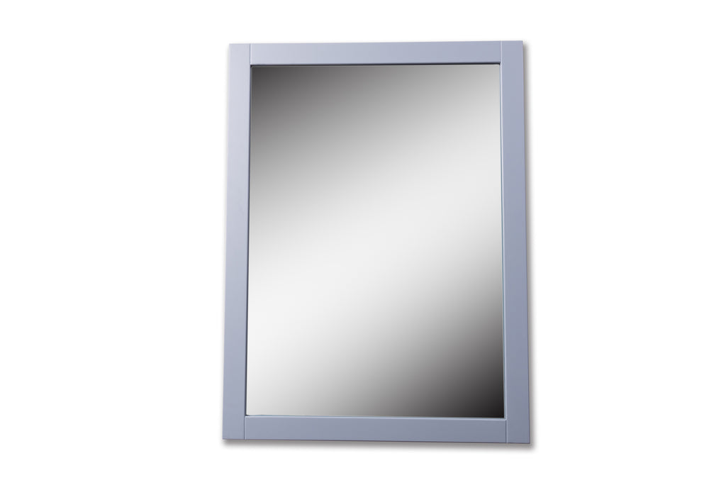 Rubeza Fabien Dove Grey Mirror