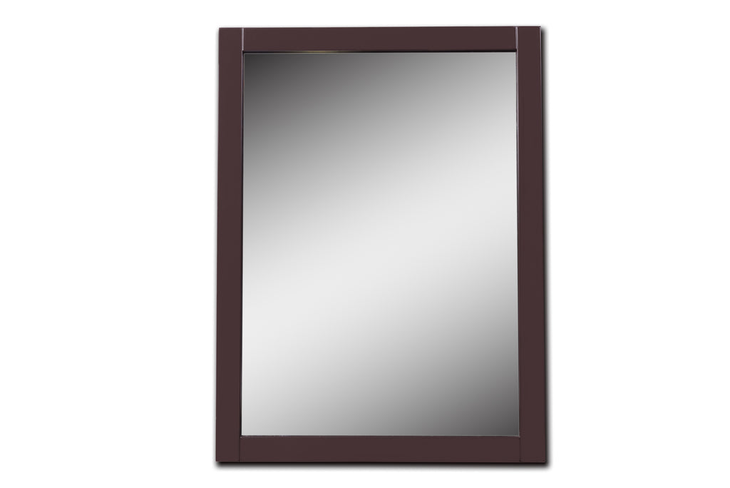 Rubeza Fabien 600*800 mm Espresso Framed Mirror