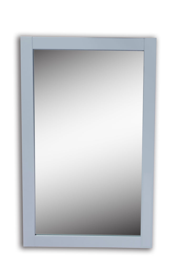 Rubeza Fabien 20''  Dove Grey Framed Mirror