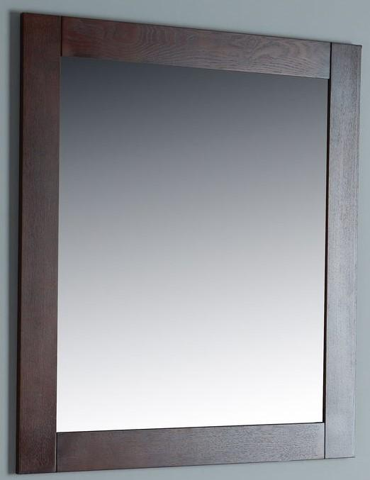 Rubeza Sazio Dark Espresso 711x800mm Luxury Framed Mirror