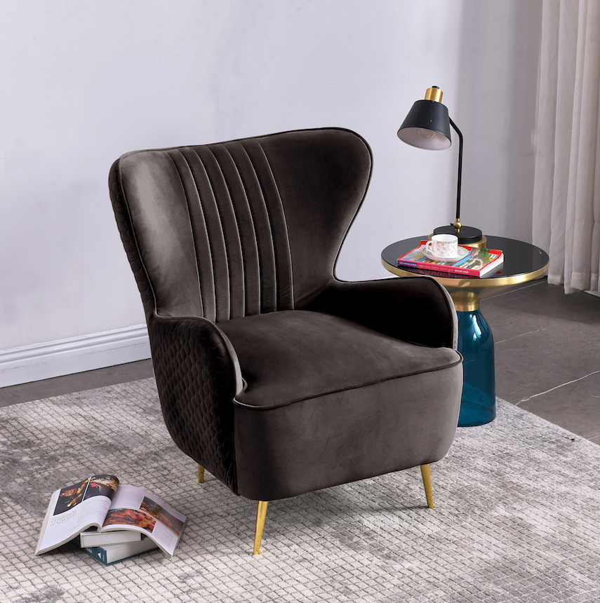 Rubeza Lottie Collection Armchair - Dark Grey