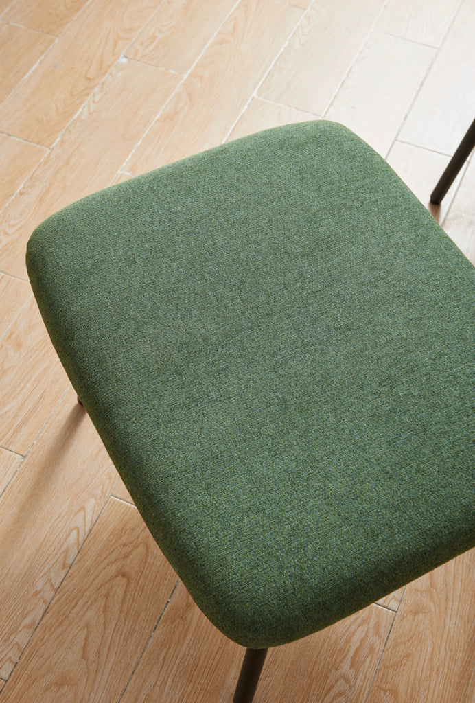 Rubeza Quinn Collection Ottomans Footstool - Green HYA-5226-AF