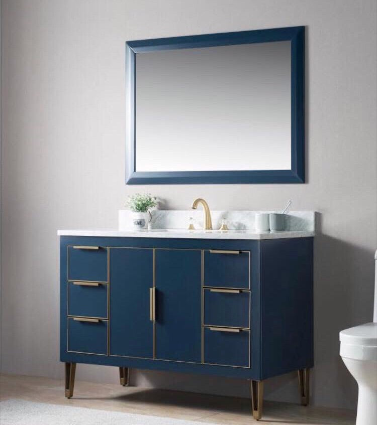 Rubeza 1200mm Dukes Vanity Unit - Blue