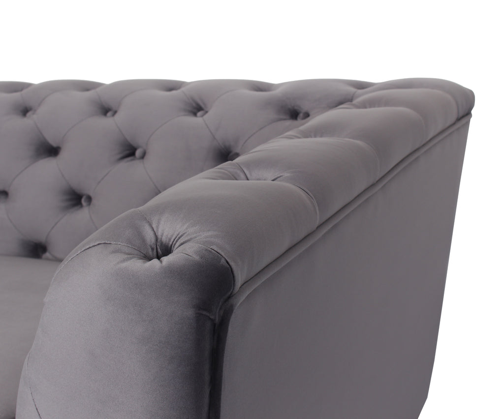 Rubeza Sloan Collection Grey Armchair