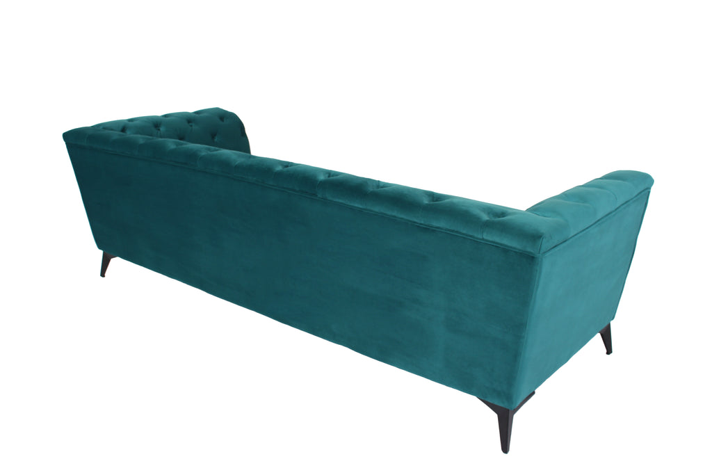 RUBEZA Sloan Collection 3 Seater Sofa - Petrol