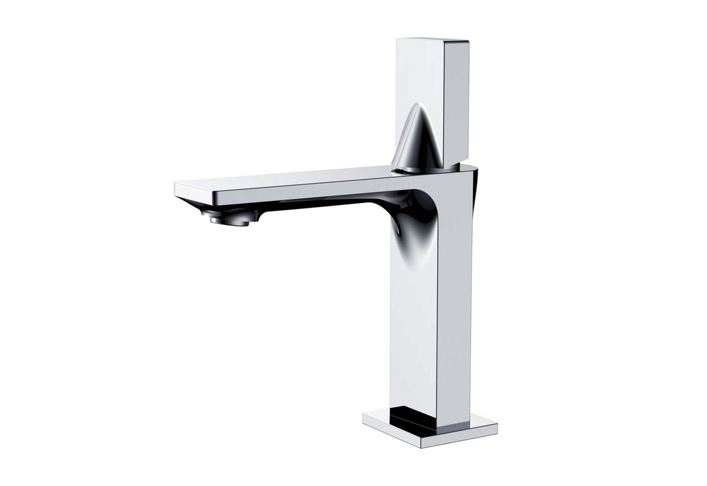 Rubeza Pablo Basin Mixer Tap - Brass Chrome