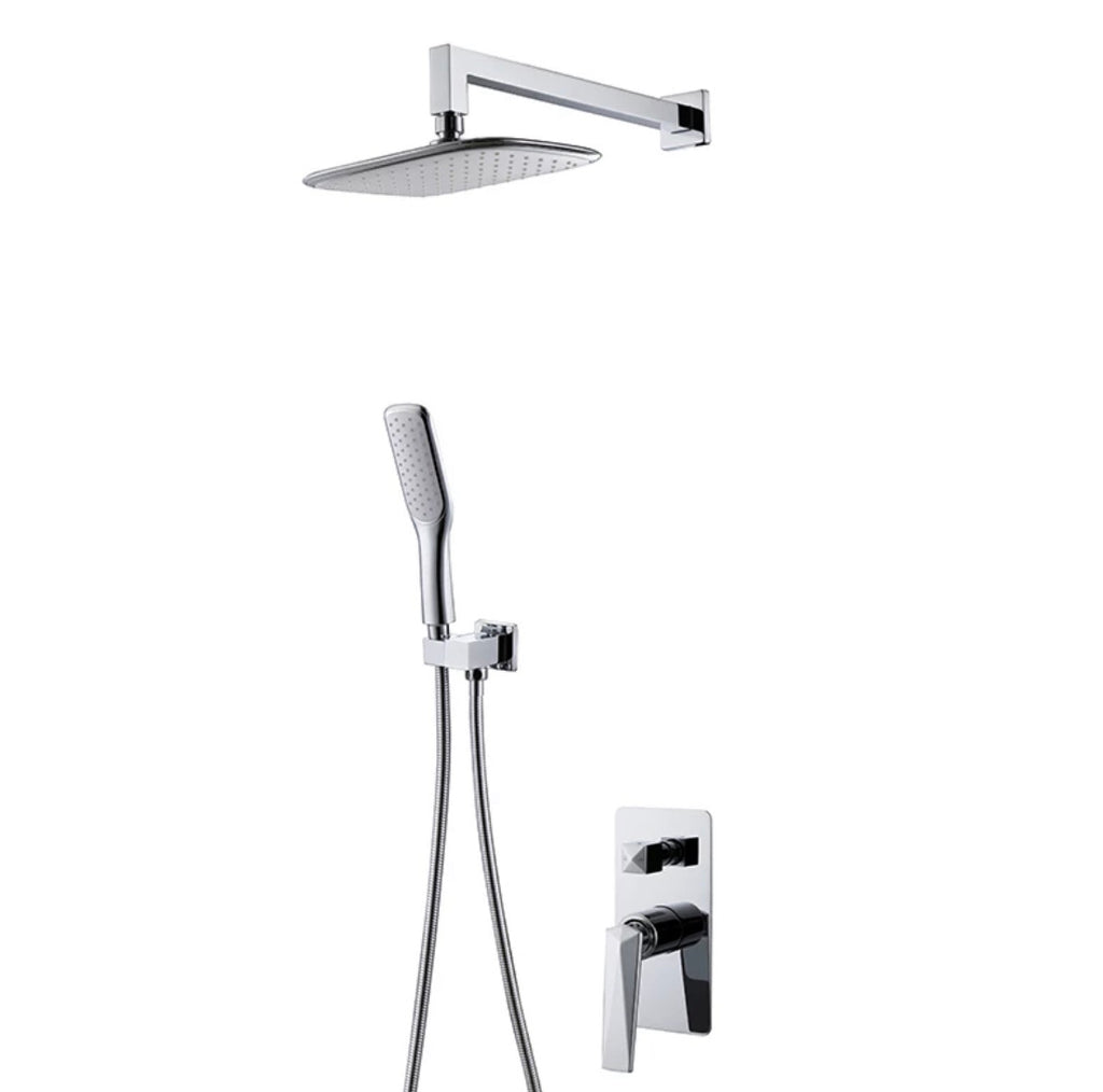 Rubeza Ensley Shower  Set - Chrome