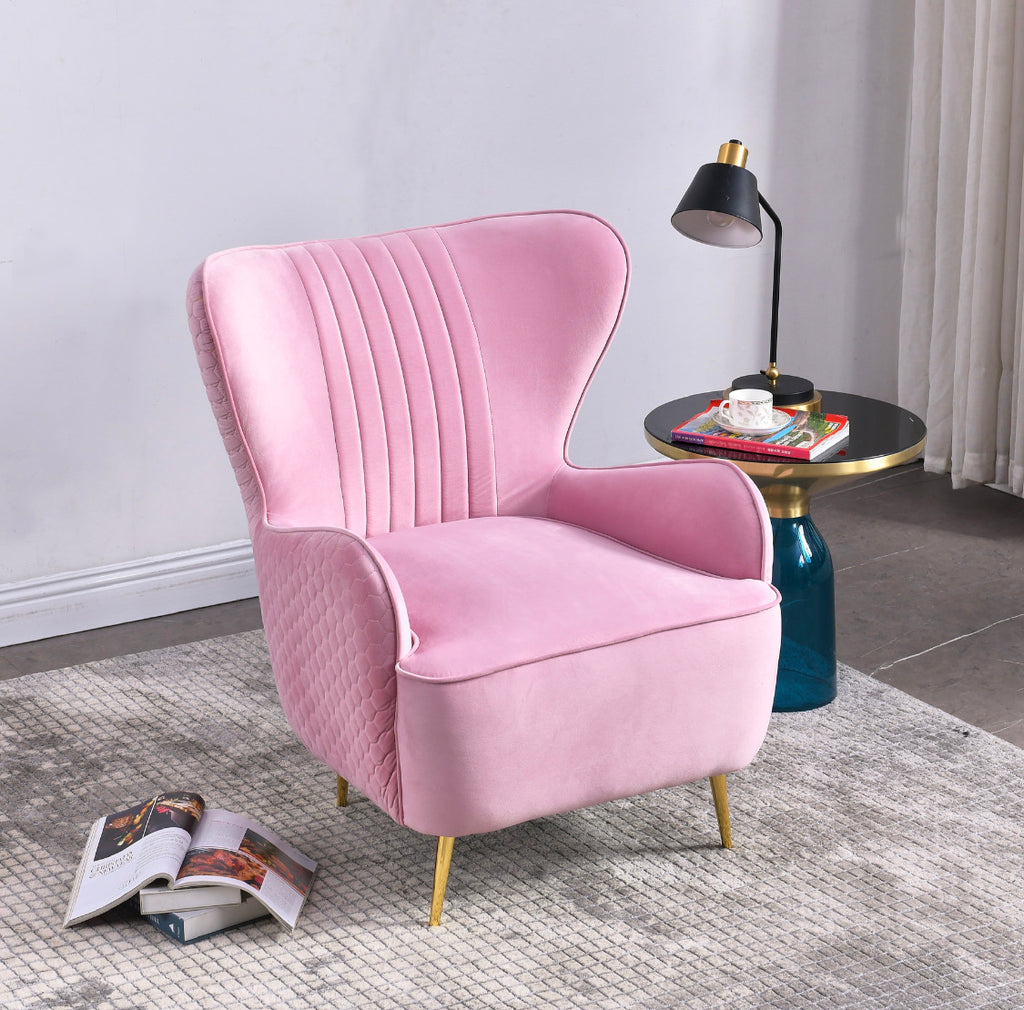 Rubeza Lottie Collection Armchair - Pink - CH002CC250201A