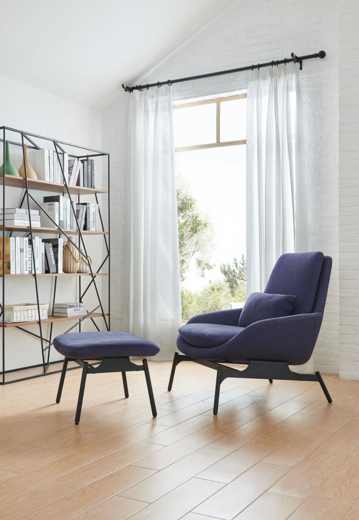 Rubeza Quinn Collection Armchair - Purple HYA-5226-A
