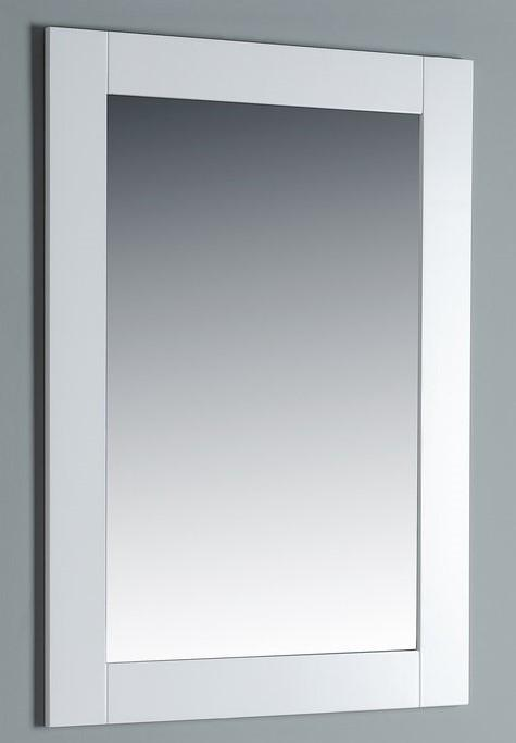 Rubeza Sazio 711x800mm Luxury Framed Mirror White