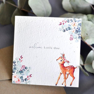 Welcome Little one Seeded Gift Card