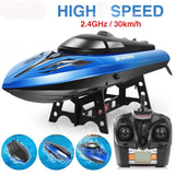 Remote Control High Speed Boat 30km/h with Capsize Reset Function