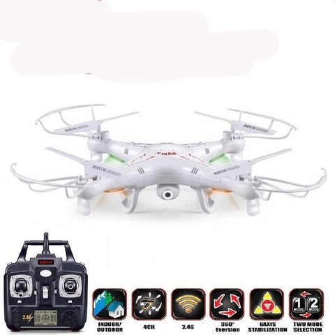 Drone 6-Axis Remote Control Helicopter Quadcopter With 2MP HD Camera