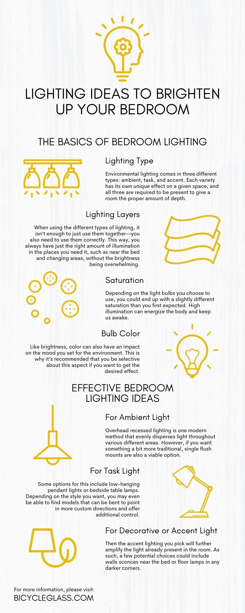 Lighting Ideas To Brighten Up Your Bedroom