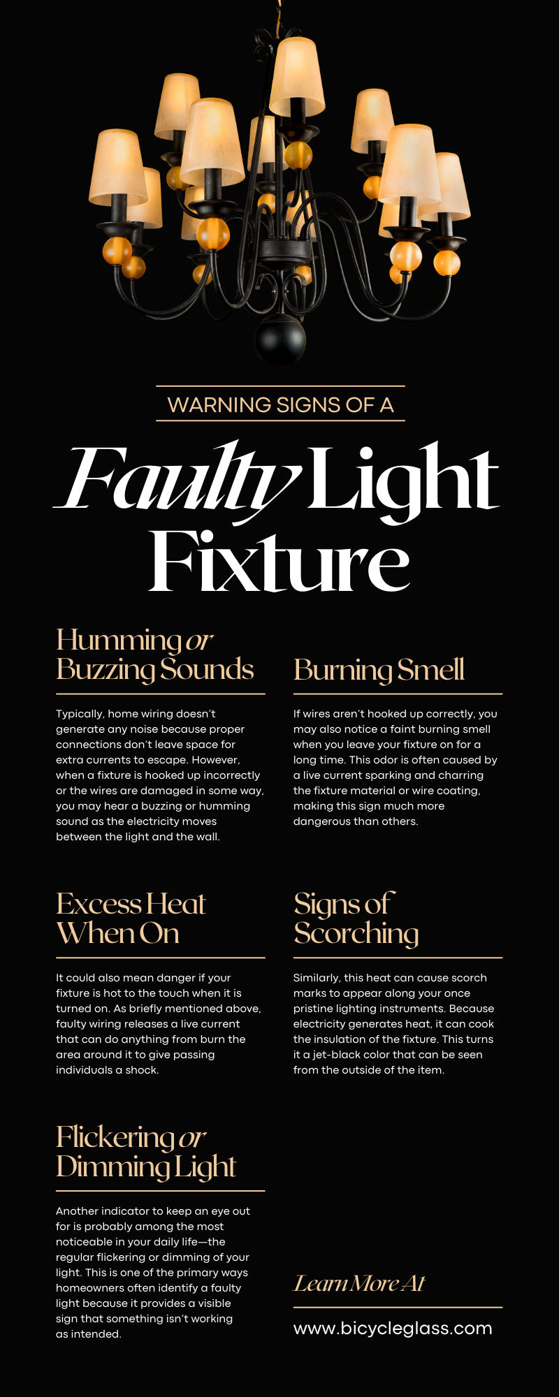 Warning Signs of a Faulty Light Fixture