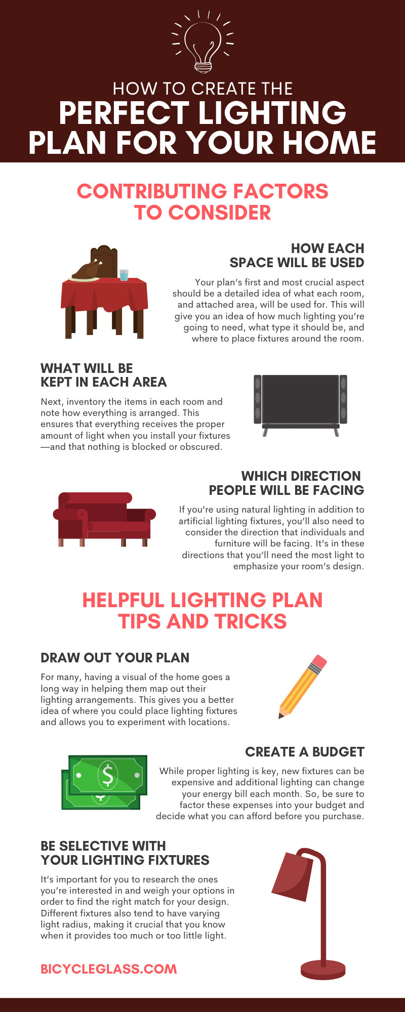 How to Create the Perfect Lighting Plan for Your Home