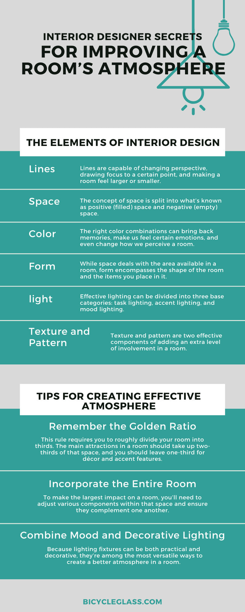Interior Designer Secrets for Improving a Room's Atmosphere