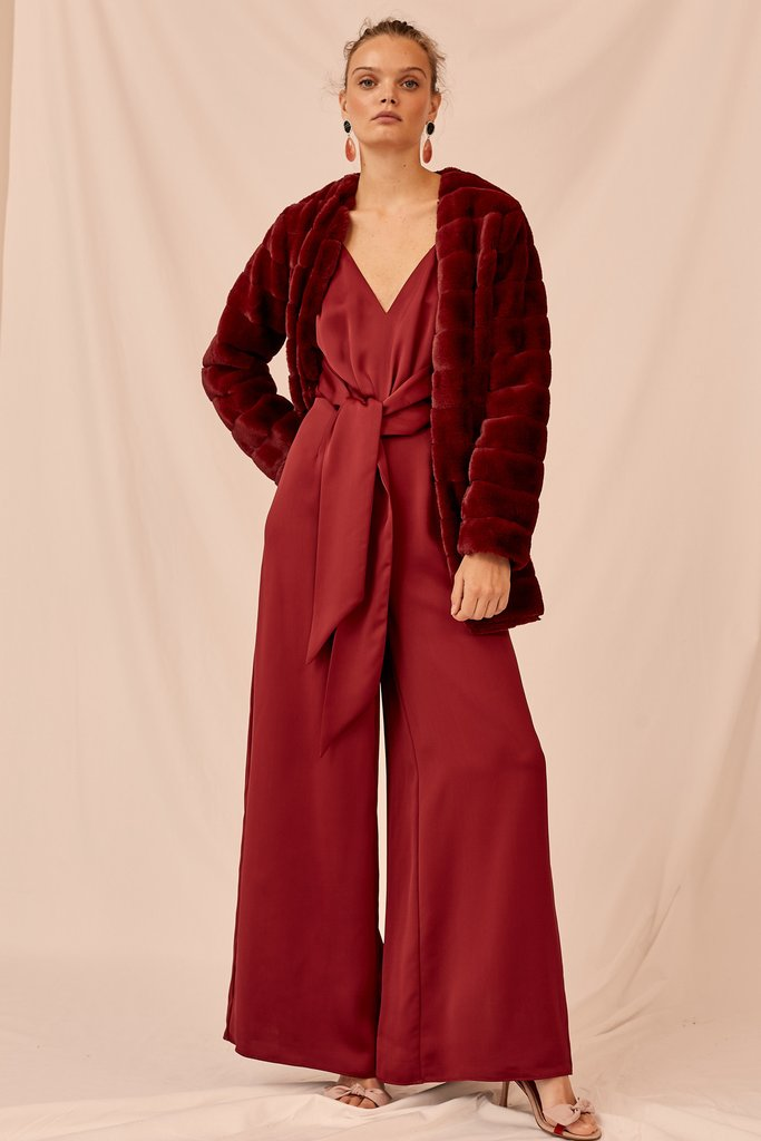 Berry Restore Jumpsuit by Keepsake