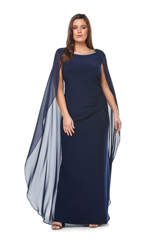 Midnight Cape Dress