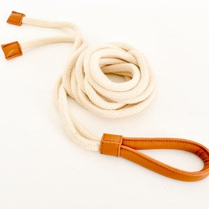 Demi Rope & Vegan Leather Belt