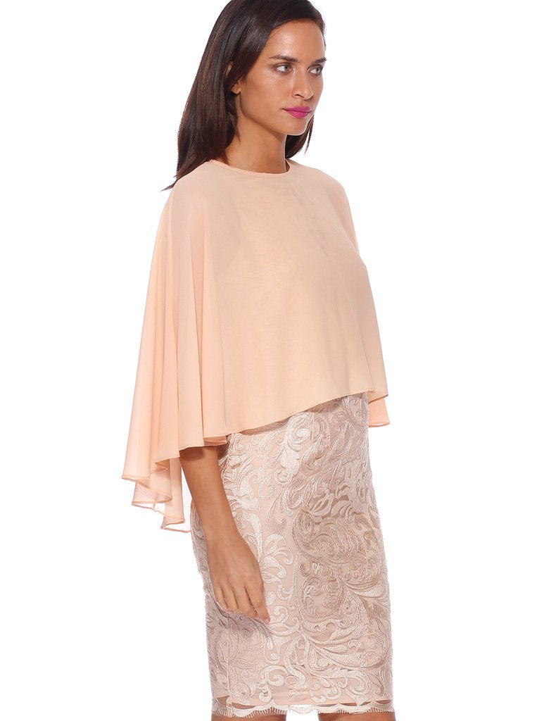 Pink Ruby Sheer Cover Up