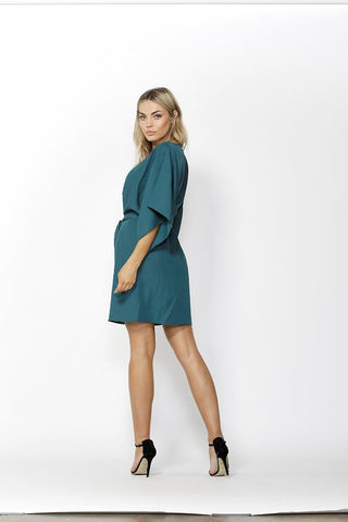 Easy Distraction Dress in Jade