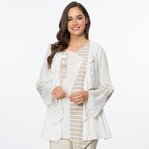 Clarity Flowing Waterfall Jacket