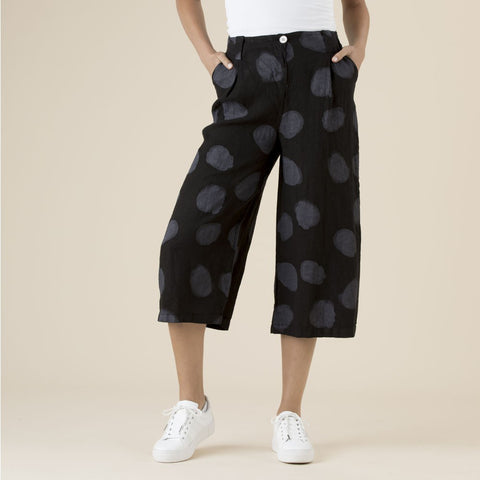 Clarity Wide Leg Spot Pants