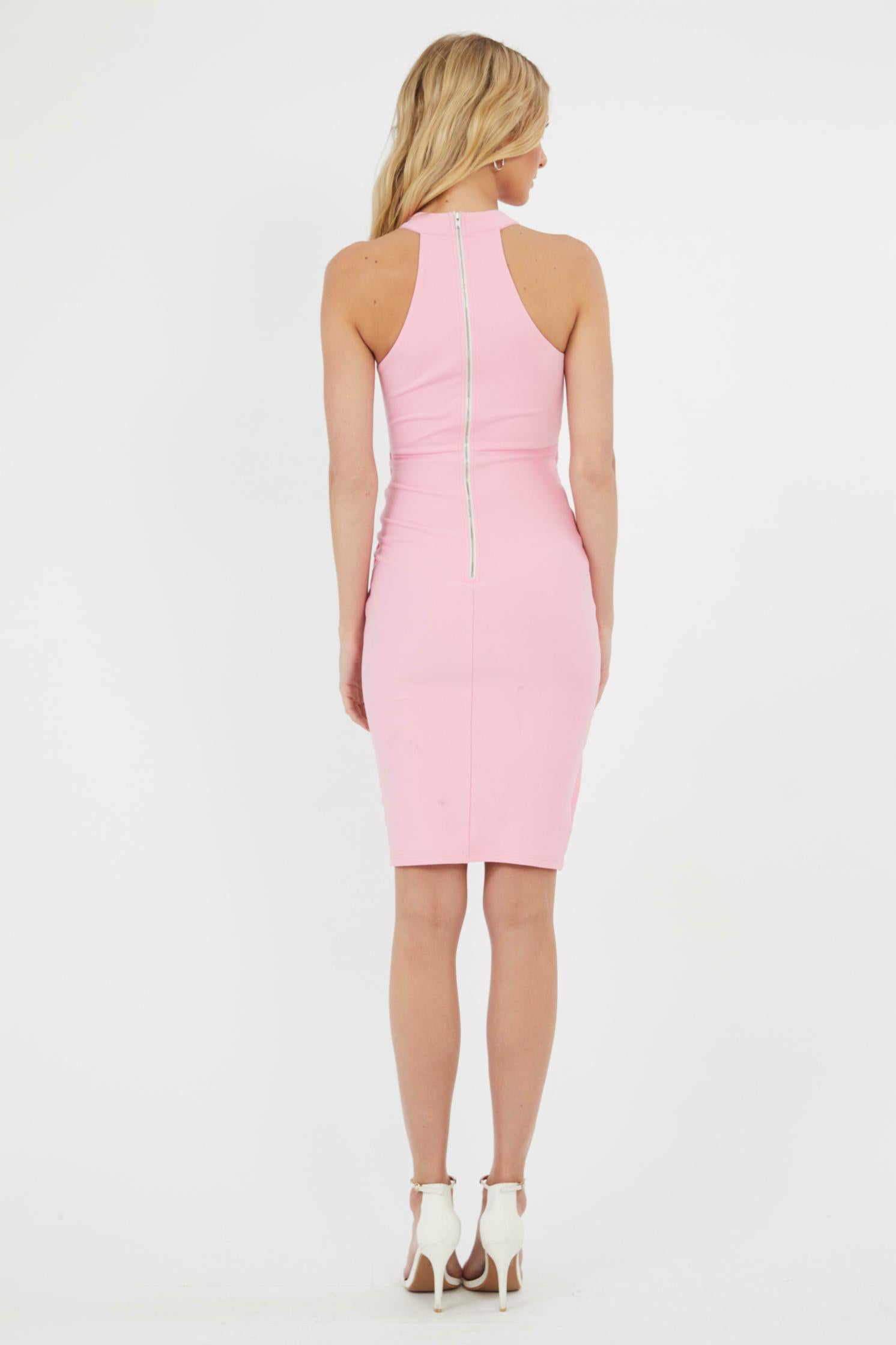 Mira Dress in Candy Pink by Fresh Soul