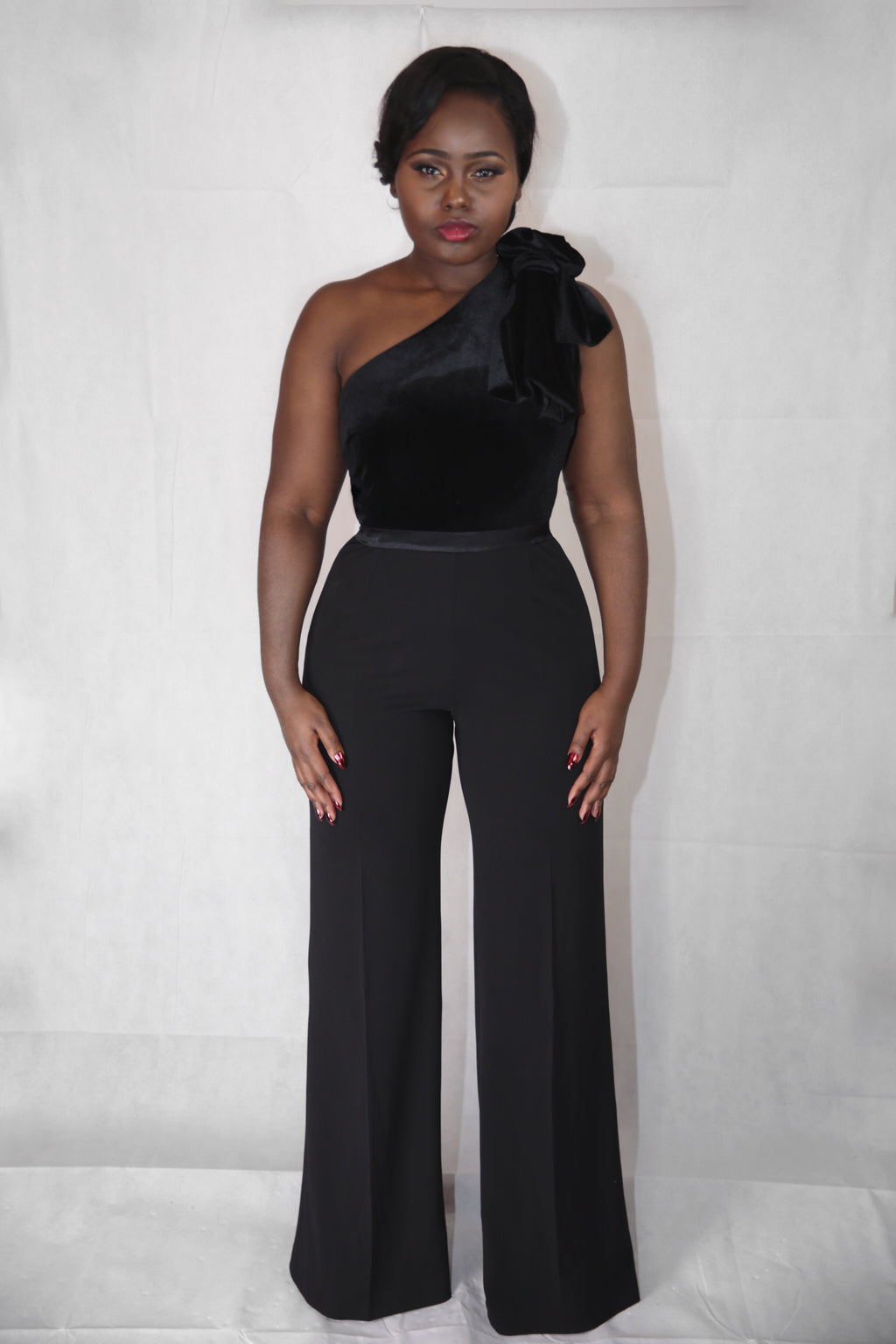 Formation Jumpsuit - Black