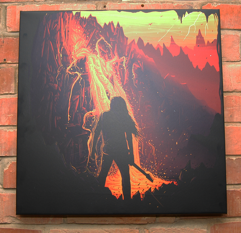Canvas Print - Fire Desire