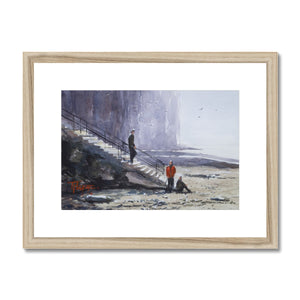 Rendez-Vous At The Beach Framed & Mounted Print