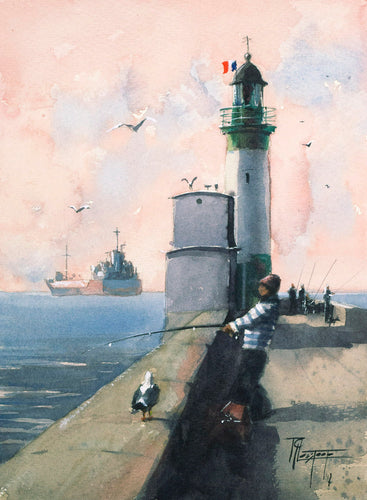 Lighthouse fishing