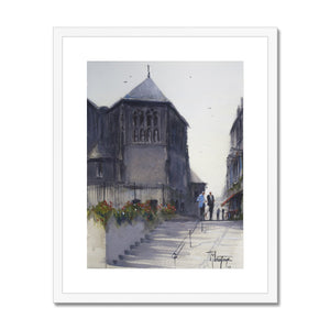 Sainte-Catherine Church In Honfleur Framed & Mounted Print