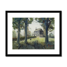 House On The Hill Framed & Mounted Print