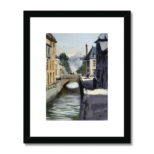 The Little Bridge Framed & Mounted Print
